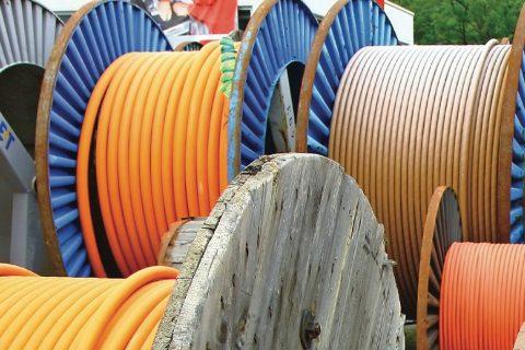 缠绕电缆和管材上的油墨转移怎么办?