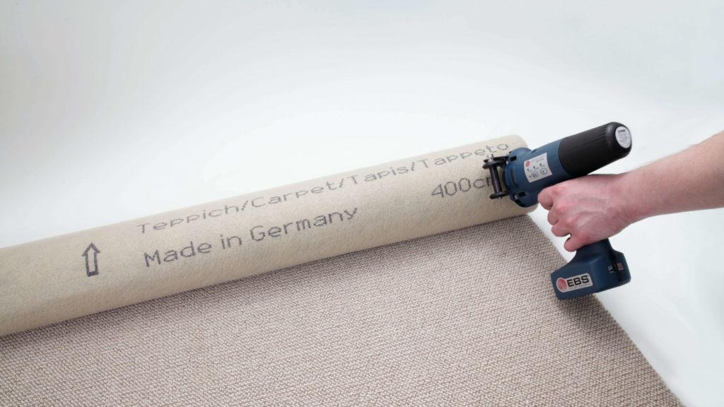 管材标识:EBS手持喷码机在碳钢管上标识应用