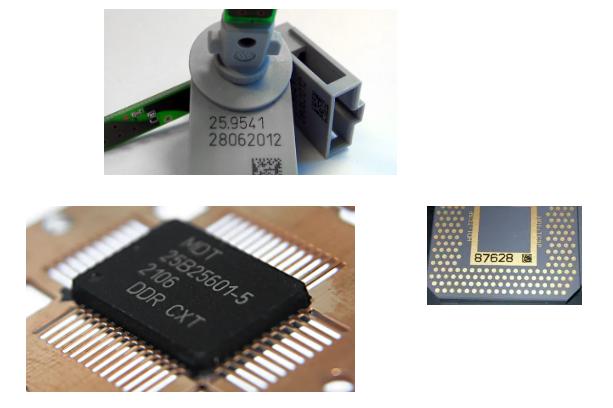 电子元器件标识解决方案,交给依玛